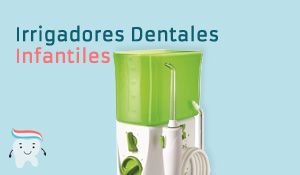 "Irrigadores Dentales para Niños"" class="